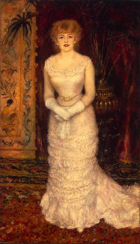 Renoir_Portrait of Actress Jeanne Samary
