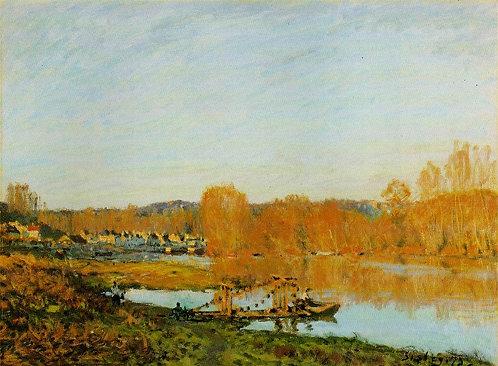 Sisley_Lautomne Bords de la Seine pres Bougival