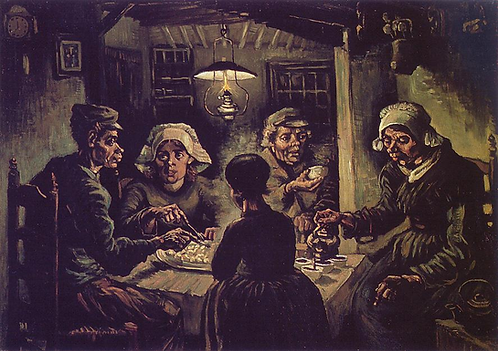 """The Potato Eaters"" by Van Gogh"