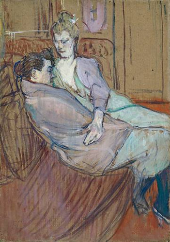 Toulouse-Lautrec_The Two Friends