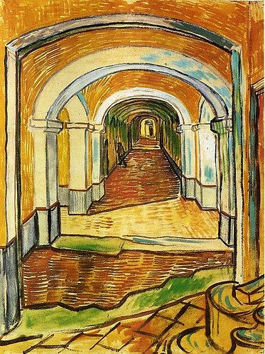 """""""Corridor in Saint-Paul Hospital"""" by Van Gogh"""