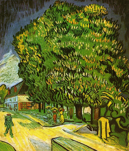"""Chestnut Trees in Bloom"" by Van Gogh"