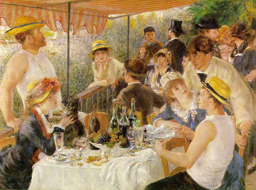 Renoir_Luncheon of the Boating Party