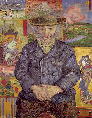 """""""Le Pere Tanguy"""" by Van Gogh"""