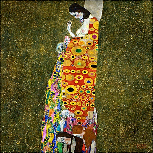 """Hope II"" by Klimt"