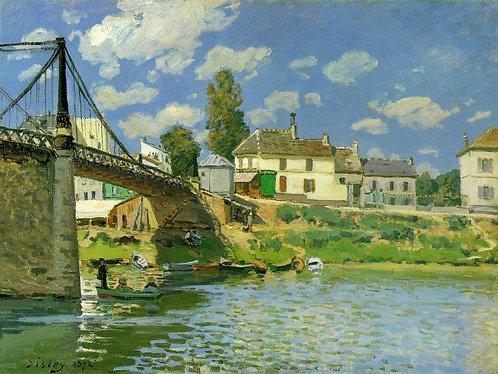 Sisley_Bridge at Villeneuve-la-Garenne