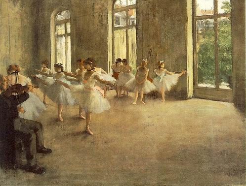 Degas_The Rehearsal
