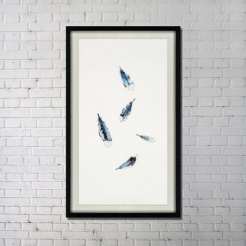 Fallin' Leaves (Blue)