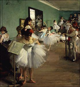 Degas_The Dance Class