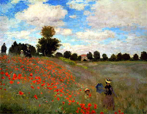"""""""Poppies"""" by Monet"""