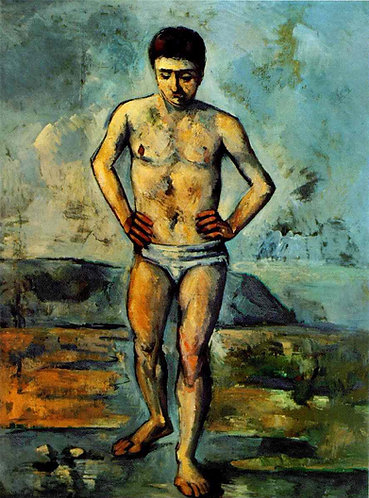 Cezanne_The Bather