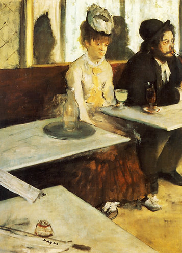 Degas_The Absinthe Drinker