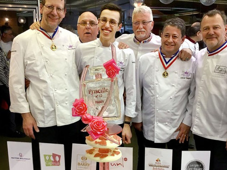 Rencontre avec Lucas Spinelli, meilleur apprenti pâtissier de France 2018
