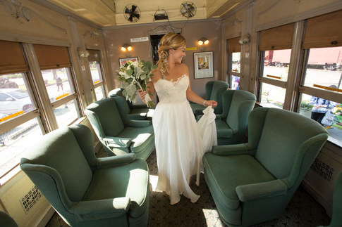 Lace Factory and Essex Steam Train wedding
