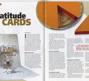 School Arts Magazine - Gratitude Cards