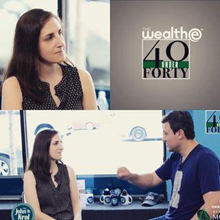 40 Under 40 - Interview
