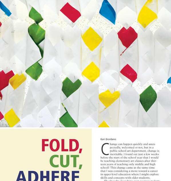 School Arts - Fold, Cut, Adhere