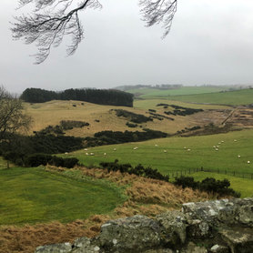 View from Balvaird Castle