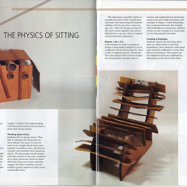 School Arts Magazine - The Physics of Si