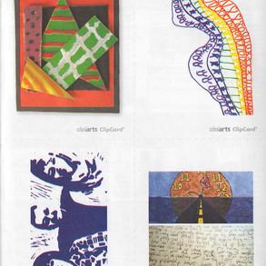 School Arts Magazine - Clip Cards