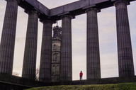 Unfinished National Monument of Scotland at Calton Hill