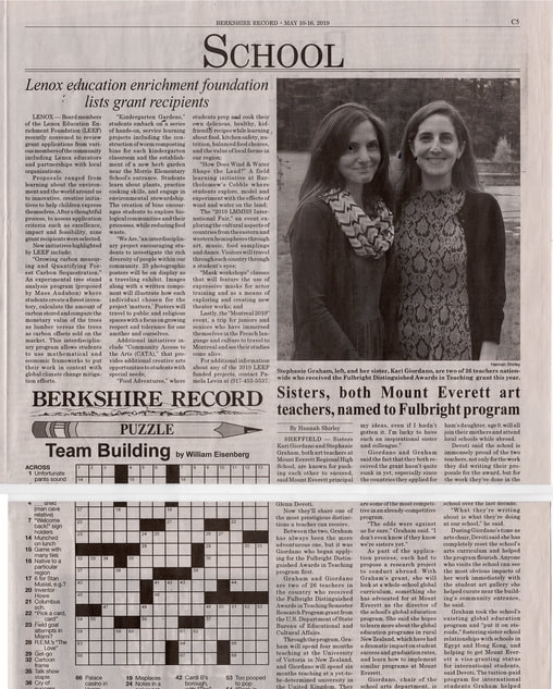 Fulbright - Berkshire Record