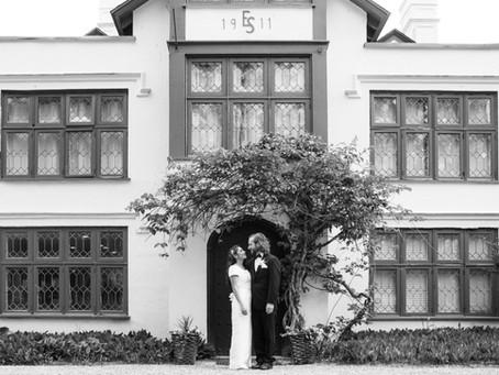 Lexi and Chris at Seven Hills Inn, Lenox