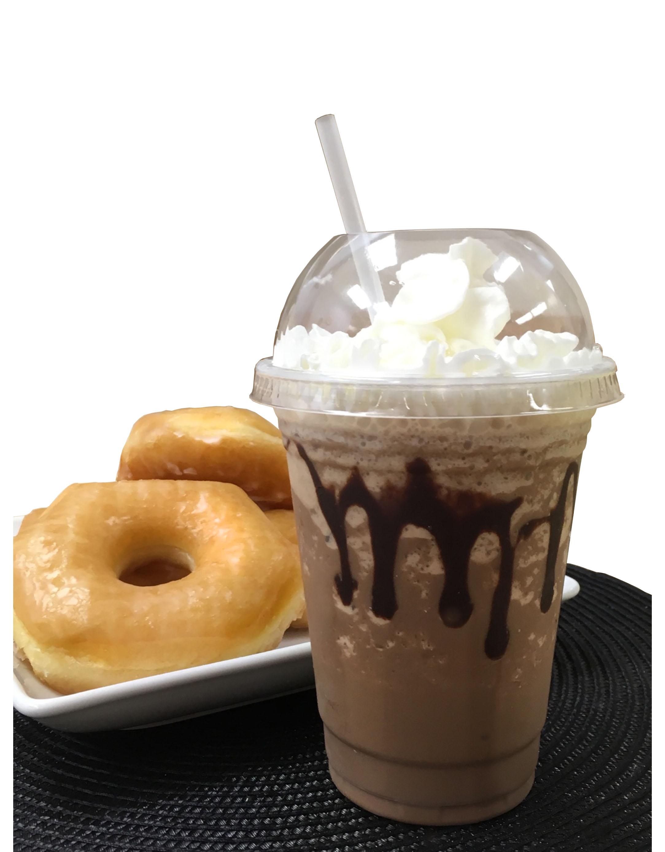 Frozen frappe espresso drink
