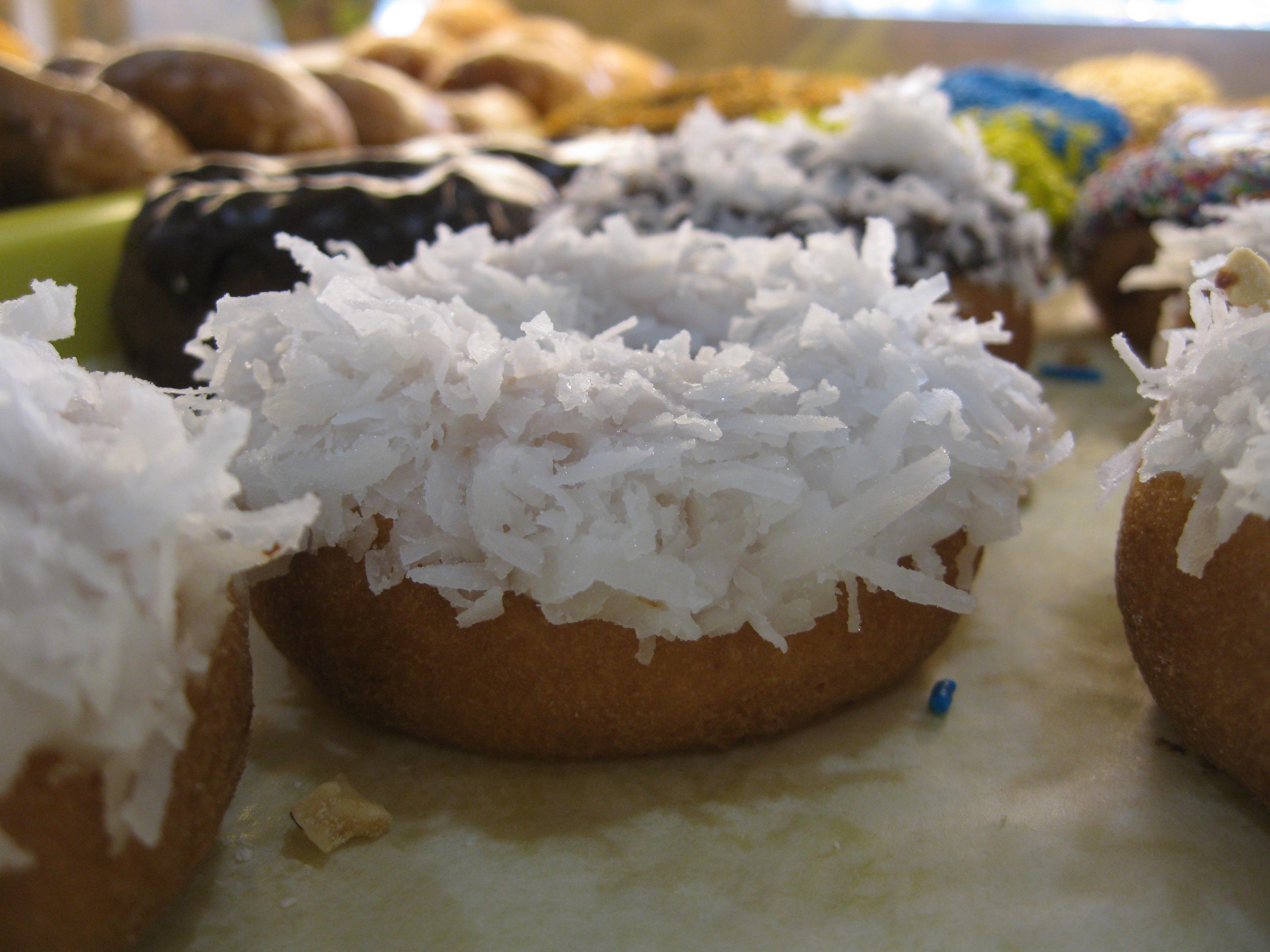 Coconut Cake Donut