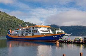 Barcaza Jacaf - Naviera Austral
