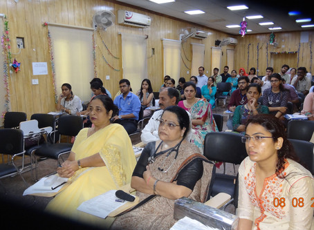 Workshop on PID on 8thAug.,2019 in MAMC,LNH organized by LNH and IPSPI