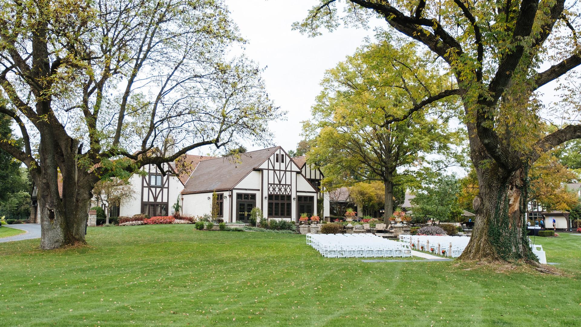 Golf Course Wedding Ceremony