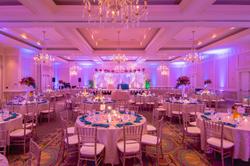Elegant Hindu wedding reception