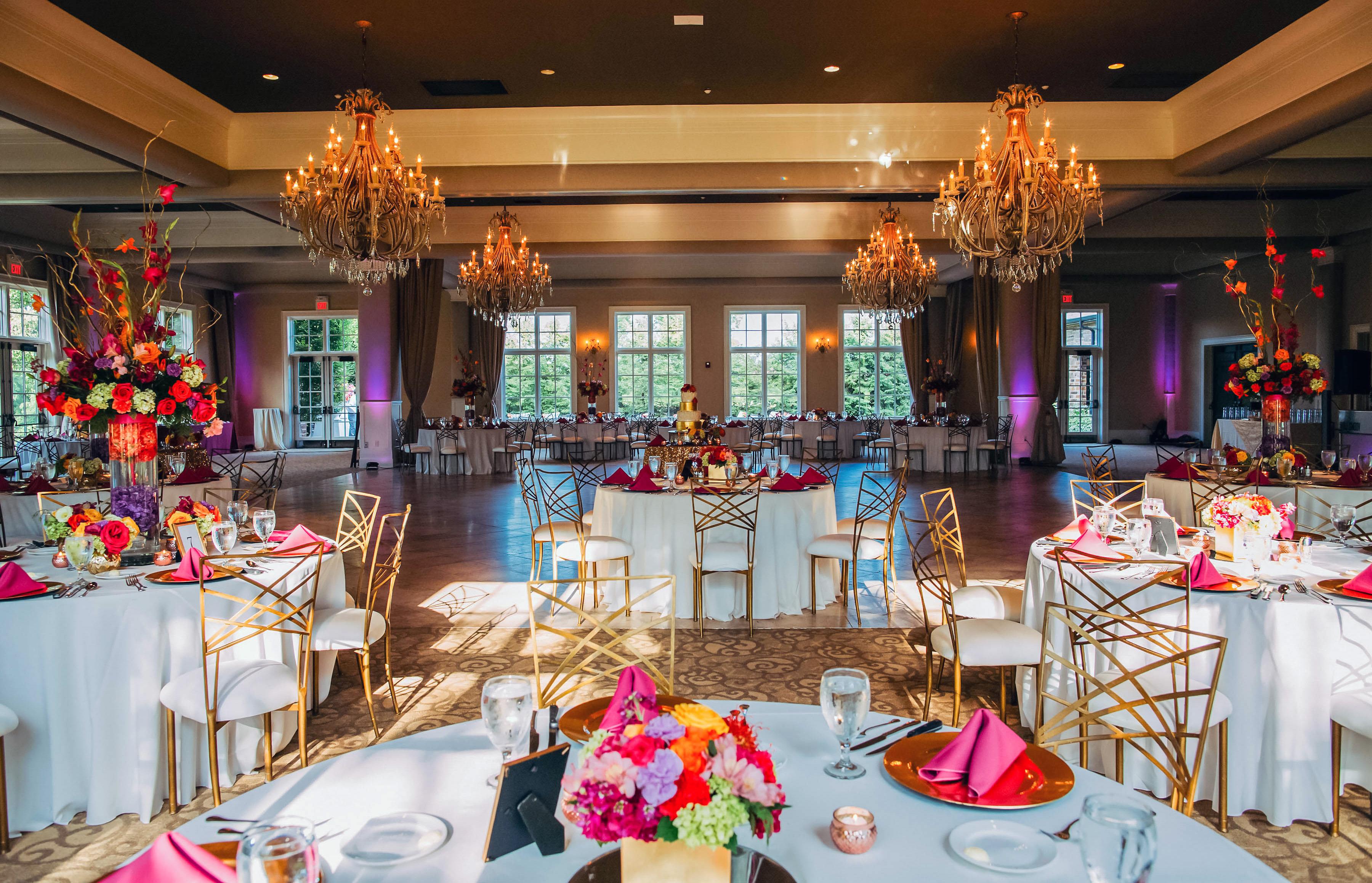 Colorful Wedding Venue