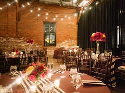 Modern industrial colorful wedding