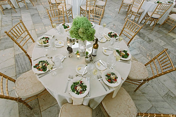 Guest Wedding Reception Table