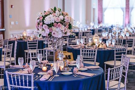 Blue & Blush Wedding