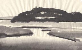 Sumi-e pamet river Truro