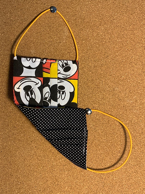Máscara de proteção reutilizável - Mickey