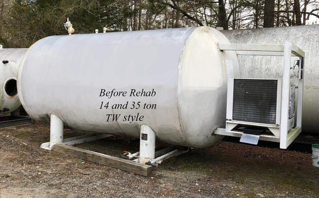Taylor Wharton 14 ton CO2 Receiver NB: 163