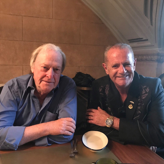 Dennis Waterman with David Lightfoot