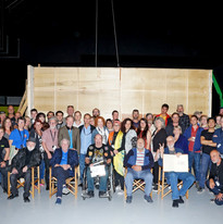 'Never too late' cast and crew, 2019