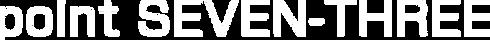 Point Seven-Three Logo