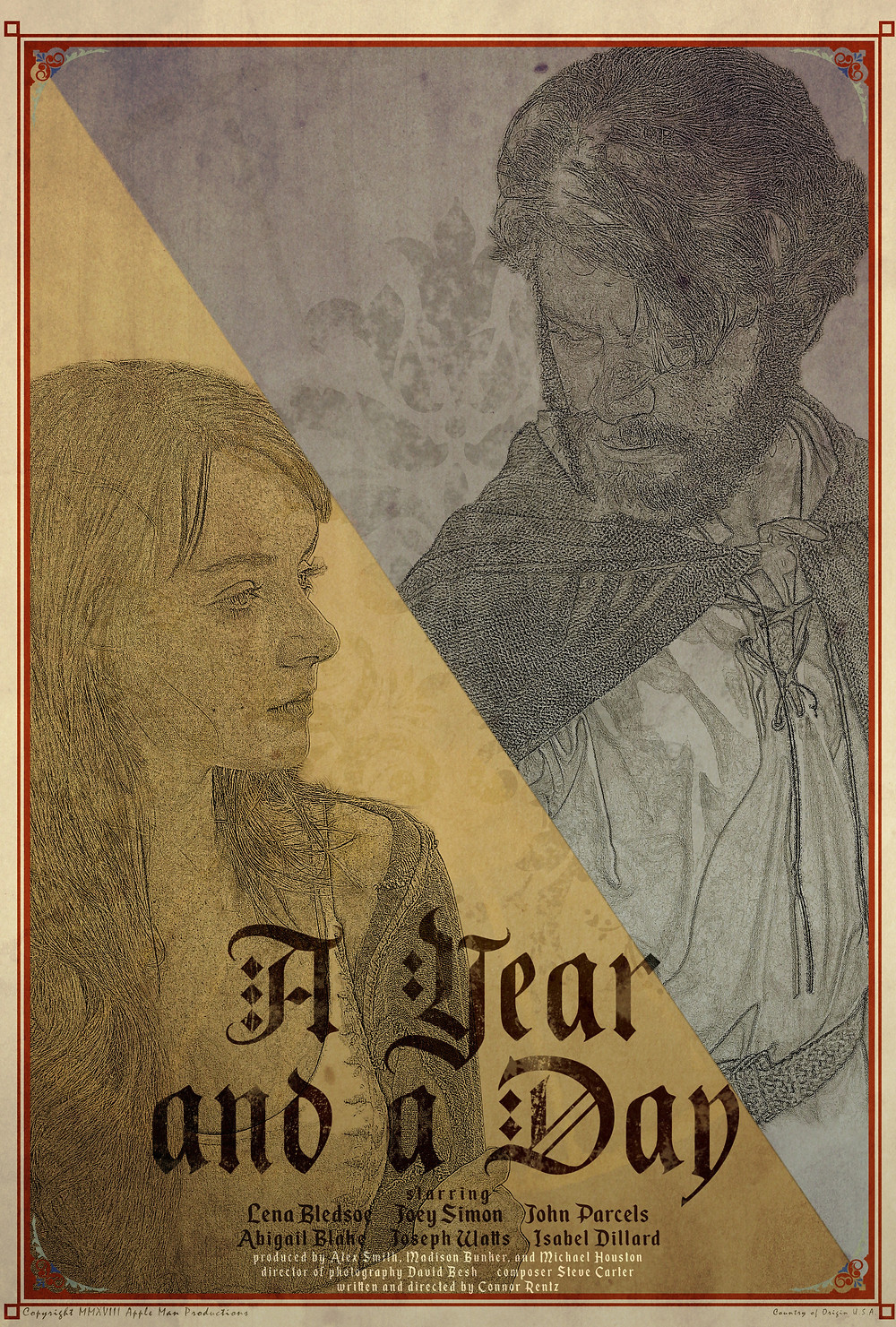 A Year and a Day Poster