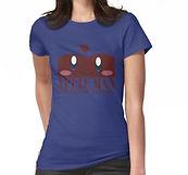 Apple Man Womens T-Shirt