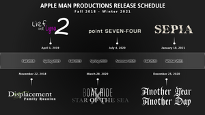 Apple Man Productions Release Schedule