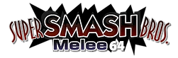 Super Smash Bros. Melee 64 Logo