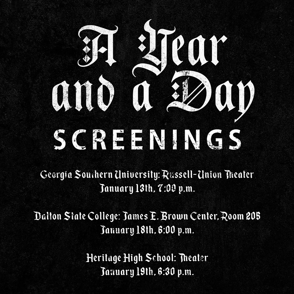 A Year and a Day Screenings