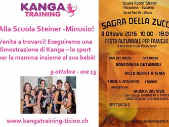 Kanga @ Scuola Steiner, Locarno