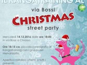 "Il Kangatraining al ""Via Bossi Christmas Street Party"" a Chiasso"